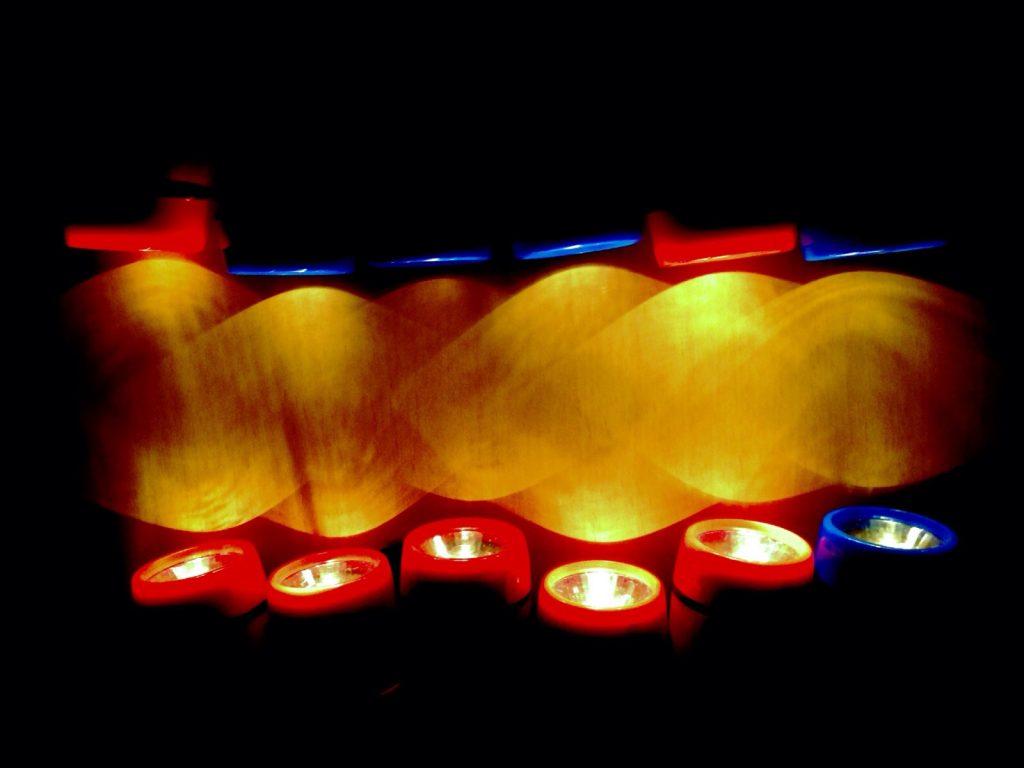 Installationen mit Licht