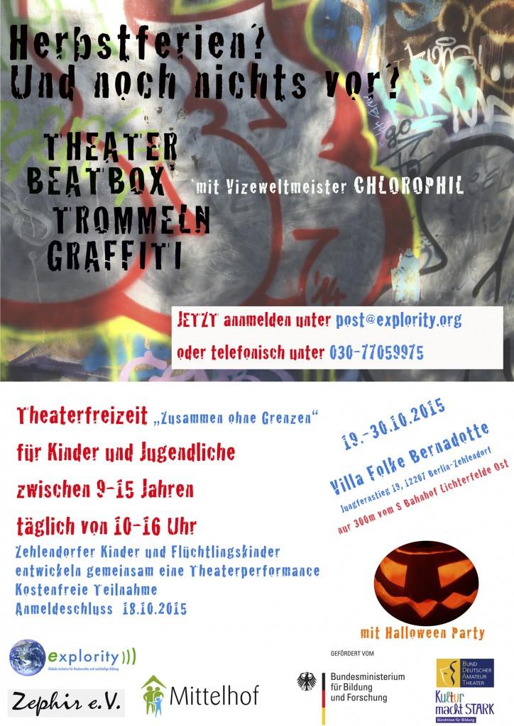 Explority organisiert interkulturelle Theaterfreizeit-Begegnung für Berliner Kinder